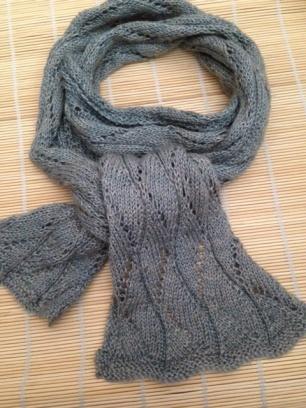 Camel:silk scarf